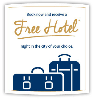 Free hotel night offer