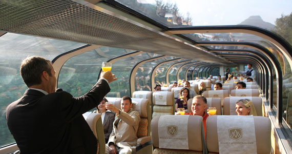 Rocky Mountaineer GoldLeaf Dome Service