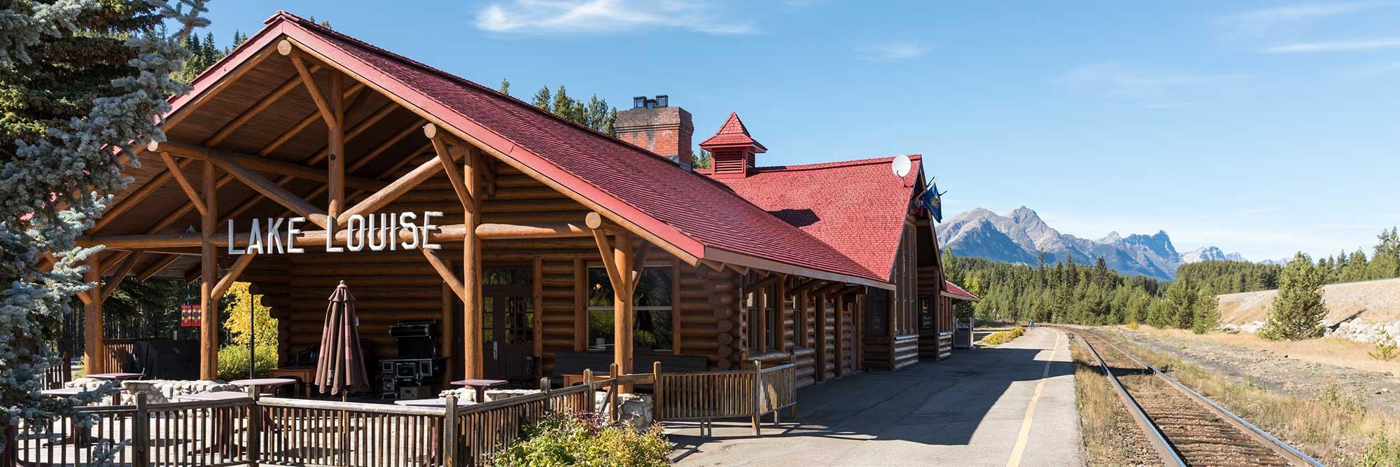 Lake Louise Train Station, Banff National Park