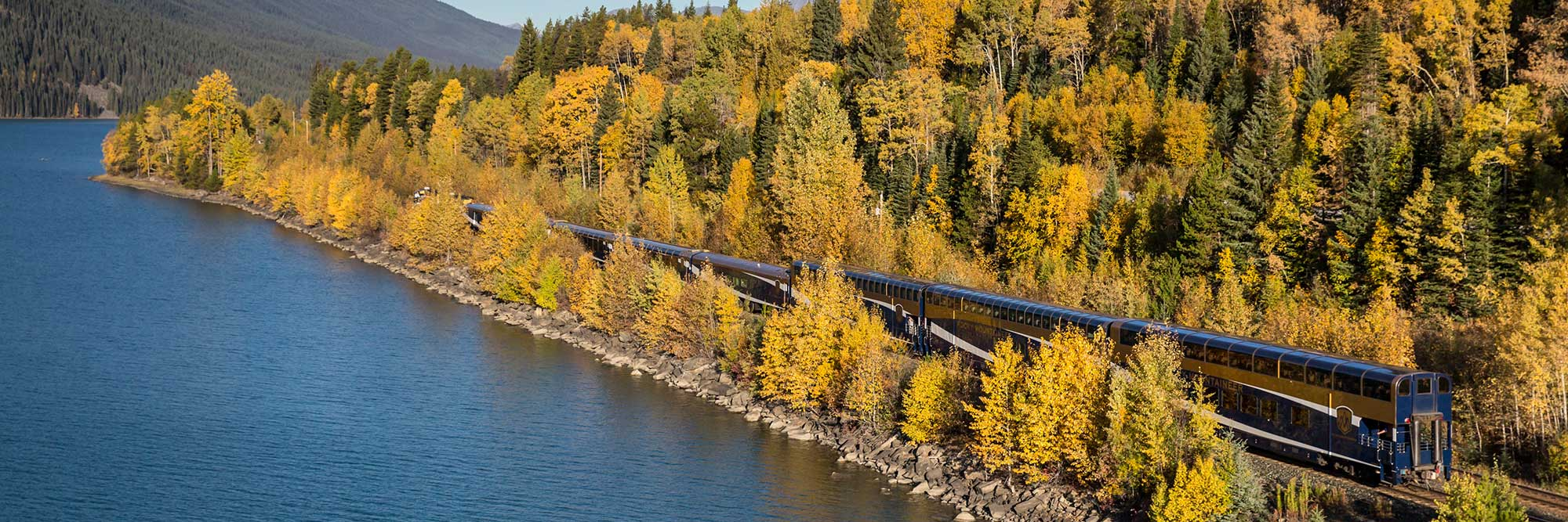 Rocky Mountaineer Train, Moose Lake, AB