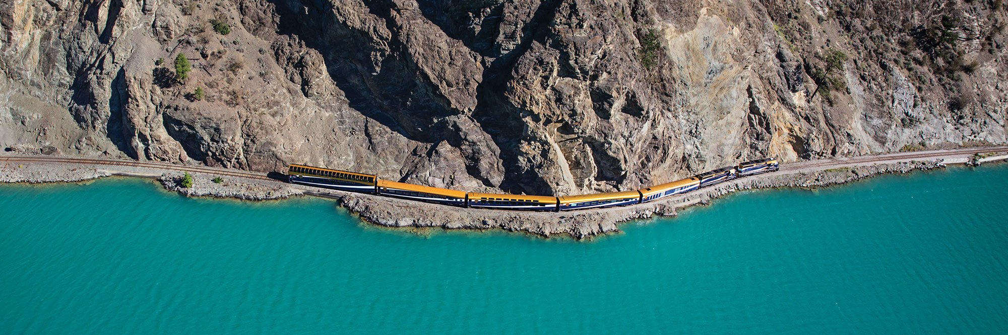Rocky Mountaineer Train, Seton Lake, BC