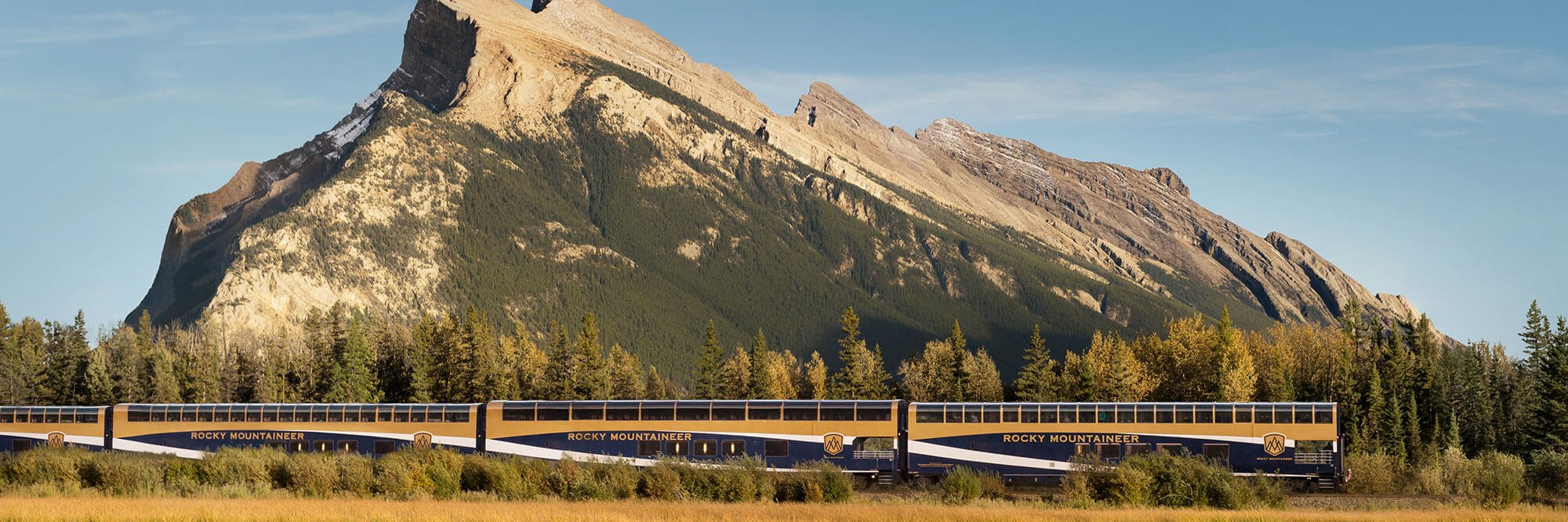 Rocky Mountaineer Train, Vermilion Lakes, Banff National Park