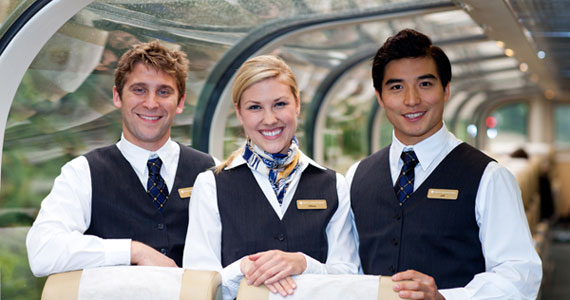 Rocky Mountaineer Staff, GoldLeaf Service